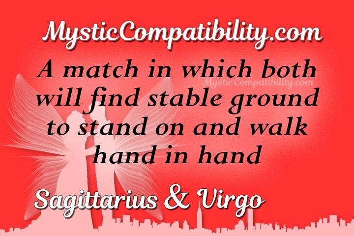 Sagittarius Virgo Compatibility