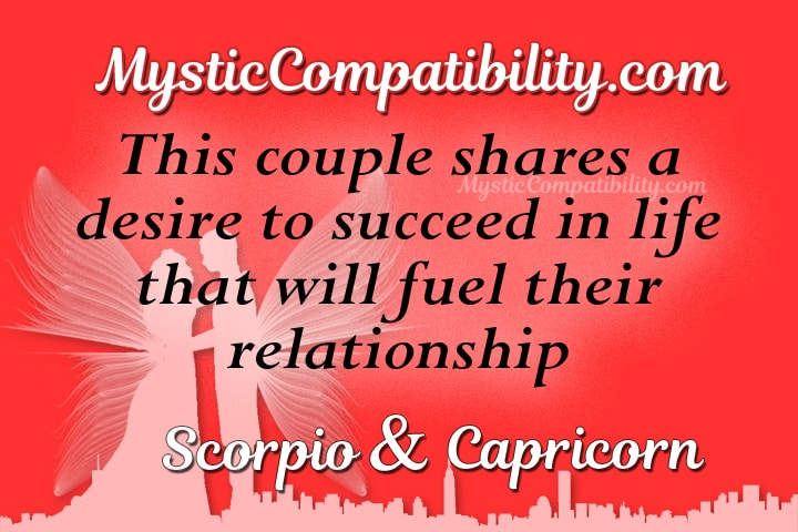 Is scorpio compatible with capricorn
