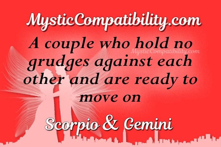 Scorpio Gemini Compatibility