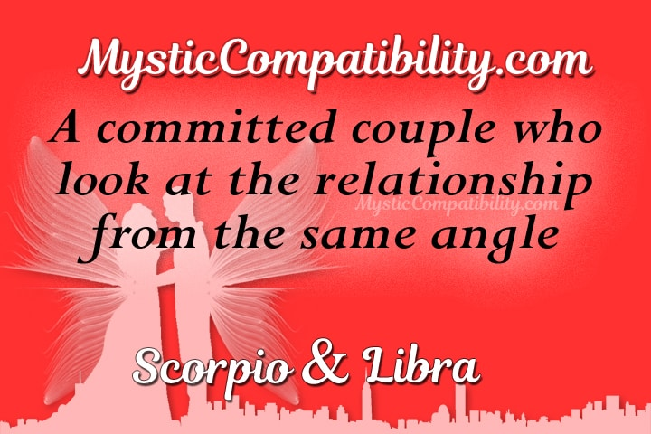 Scorpio and libra love match