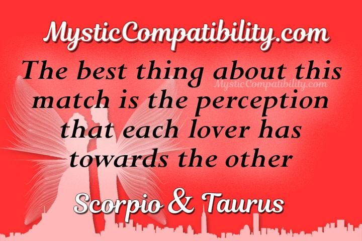 Scorpio Taurus Compatibility