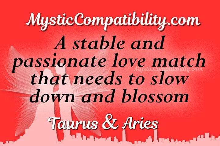taurus aries compatibility