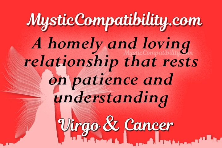Cancer zodiac compatibility with virgo