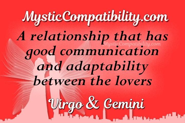 Virgo Gemini Compatibility