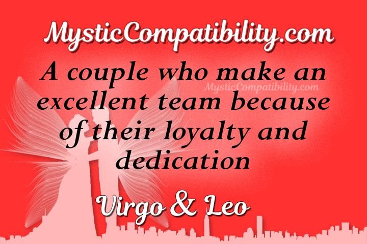 Virgo Leo Compatibility