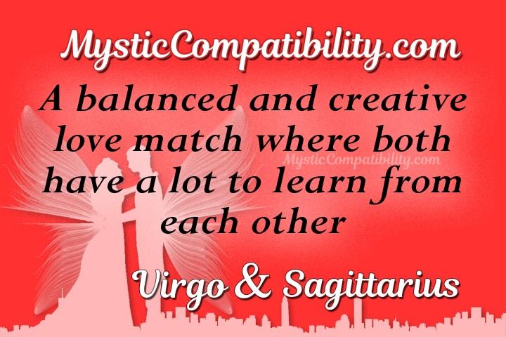 Virgo Sagittarius Compatibility