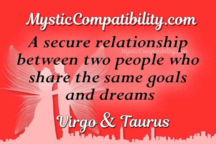 Virgo Taurus Love Compatibility