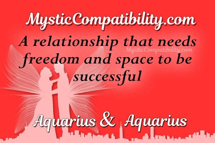 Aquarius Aquarius Compatibility