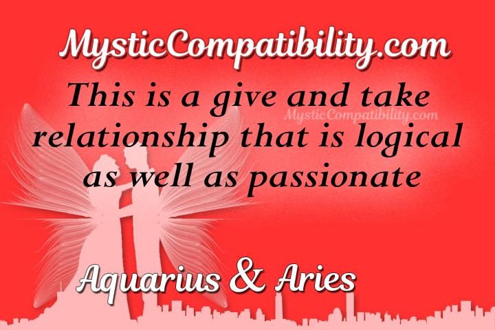 Aquarius Aries Compatibility