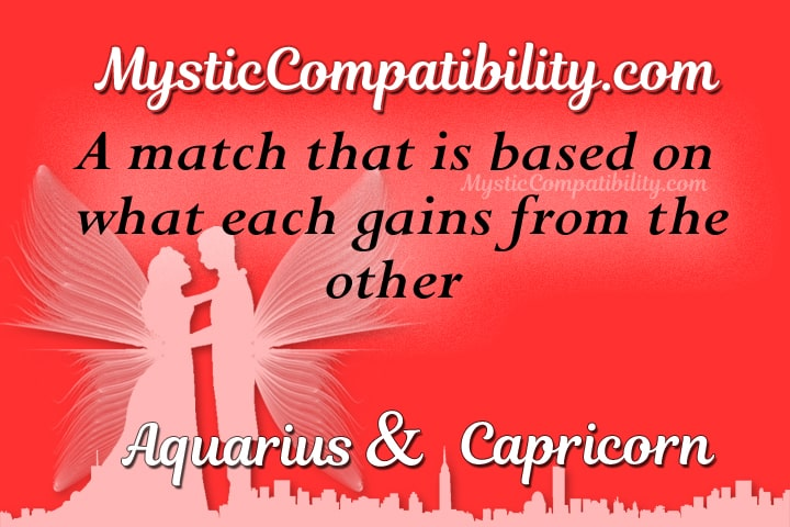 Aquarius Capricorn Compatibility
