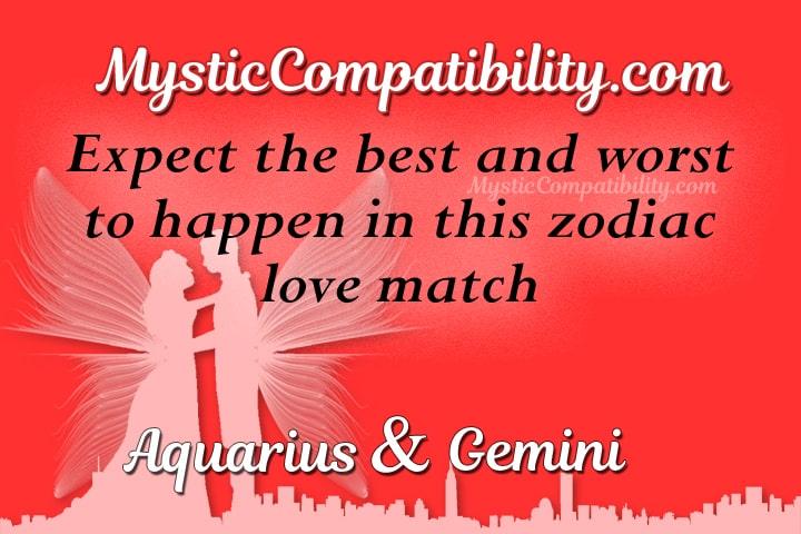 Aquarius Gemini Compatibility