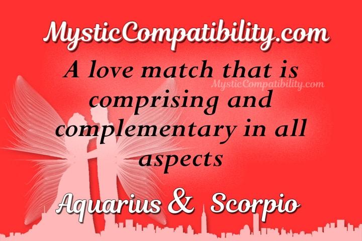 Does aquarius and scorpio match