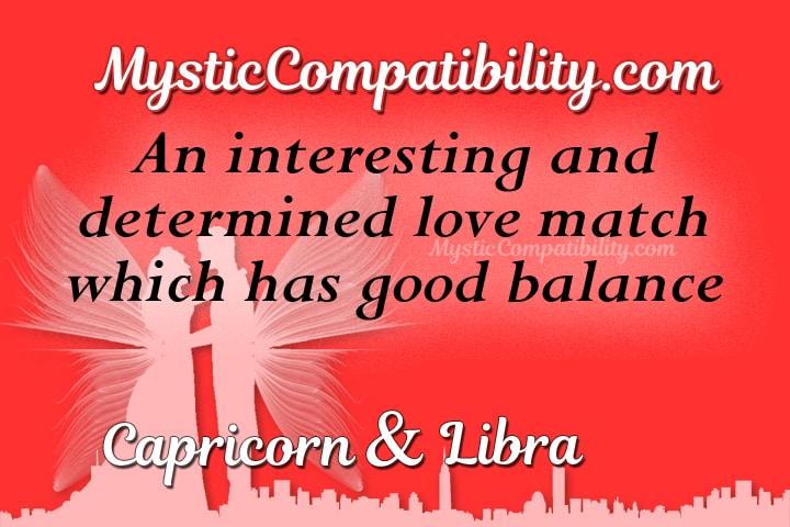 Capricorn Libra Compatibility