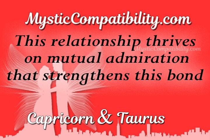 Capricorn taurus compatibility