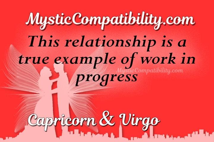 Capricorn Virgo Compatibility