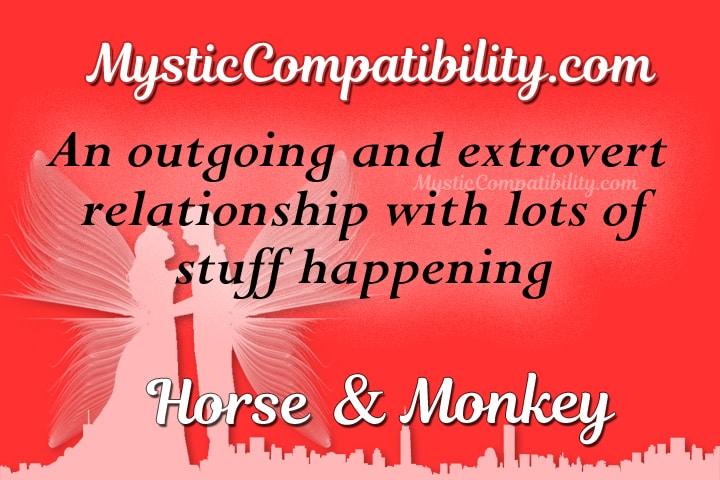 horse monkey compatibility