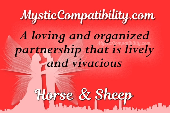 horse sheep compatibility