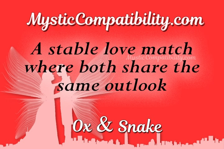 Ox Snake Compatibility - Mystic Compatibility