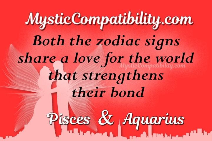 Pisces Aquarius Compatibility