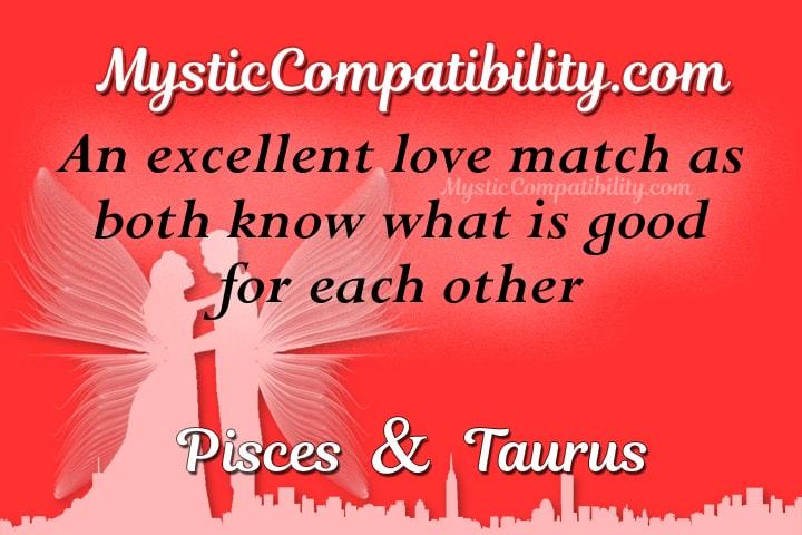 Pisces Taurus Compatibility