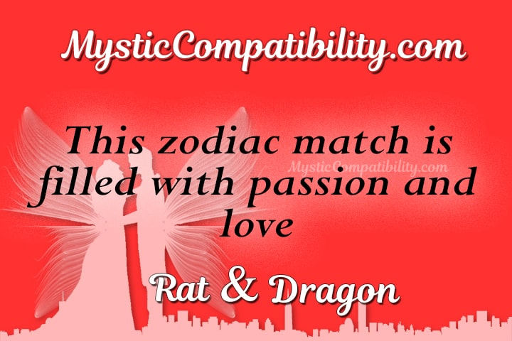 dragon man and rat woman compatibility