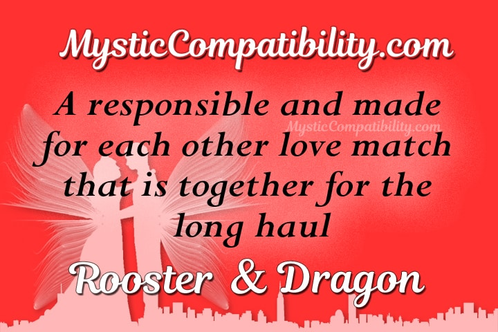 Dragon and rooster sexual compatibility