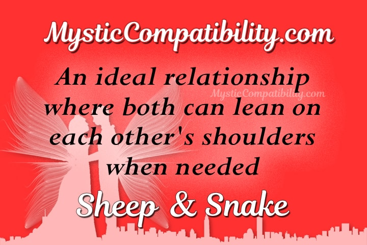 sheep snake compatibility