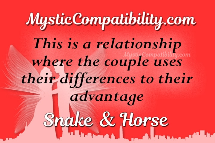 snake horse compatibility