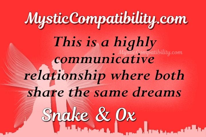 snake ox compatibility