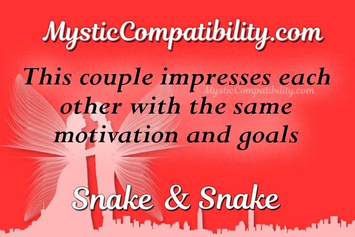snake snake compatibility