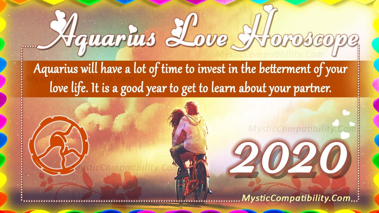 may love horoscope for aquarius