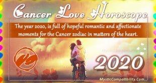 cancer love horoscope 2020