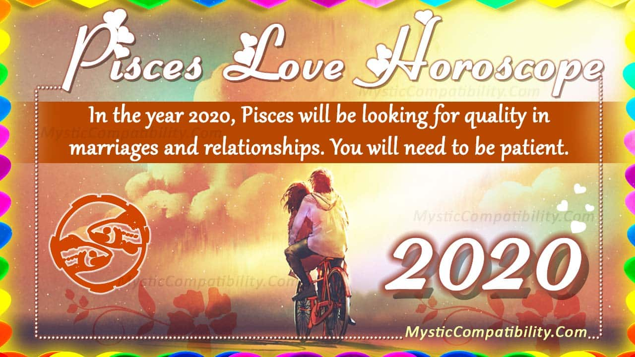 love horoscope pisces march 2020